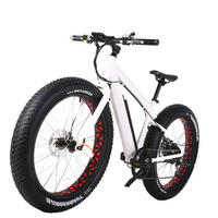 26 inch Electric Bike Snow Beach Fat Tire folding electric bike with Bafang Rear Motor ebike 48v 750w