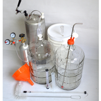 Master Brewers Home Brew Kit Including All products Homebrew required Carboy Beer Keg Bucket ETC