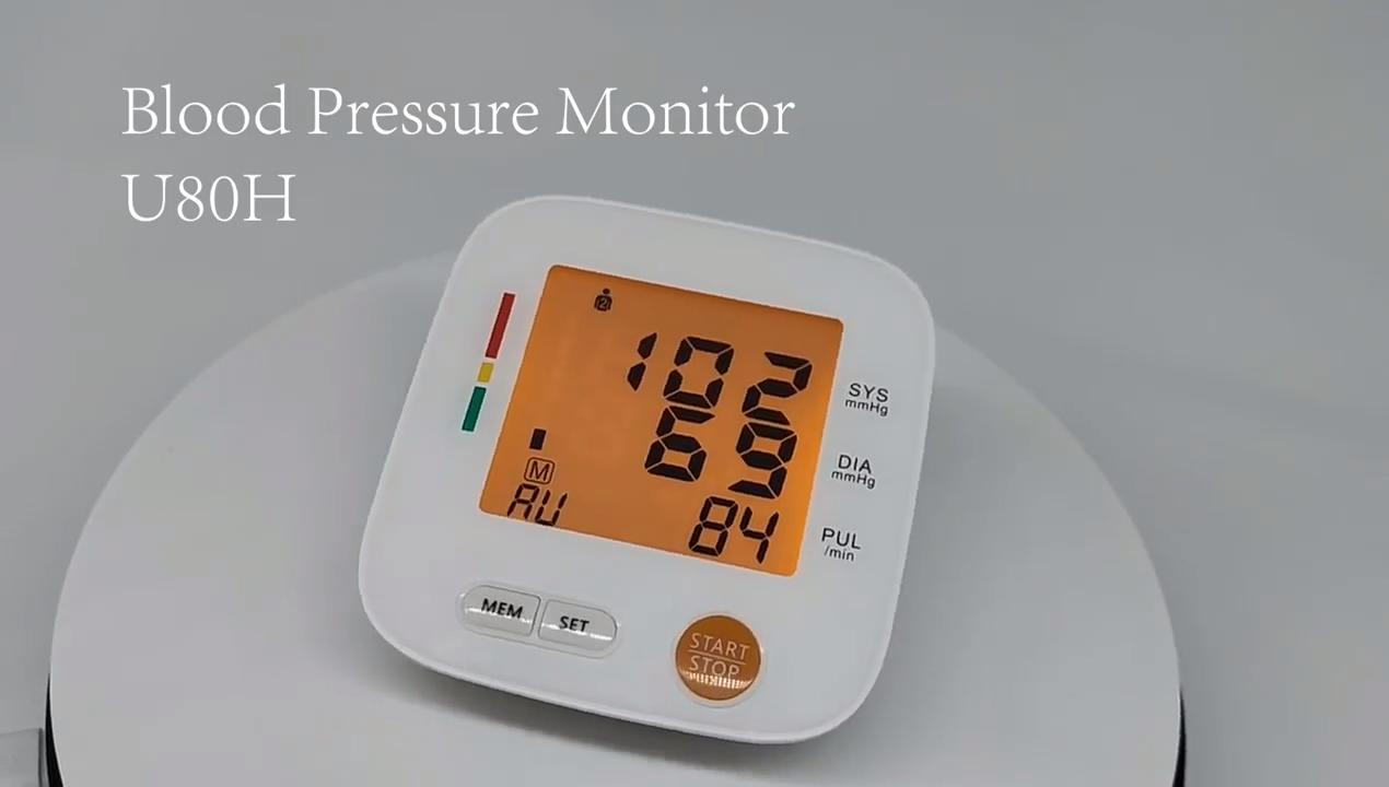 Медицинский прибор для измерения верхнего артериального давления, измеритель машина автоматический тонометр BP сердечного ритма артериального давления