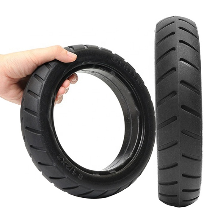 Striped solid <strong>tires</strong> for m365 mi electric scooters and other electric vehicles
