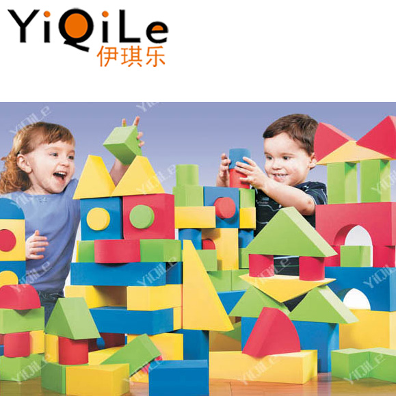 Educational Soft Foam Building Blocks Bricks Play Toys For Children Kids LI