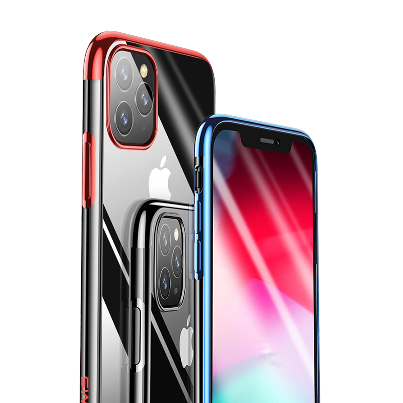Ultra Dun voor iPhone 11 Case Transparante TPU Cover voor iPhone 11 Pro Max Case 11 Pro Telefoon Geval