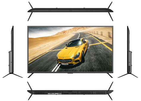 4K UHD Smart 50 55 65 76 Inch LED TV  Android8.0