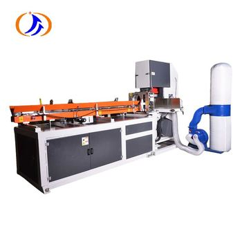 China Suppliers Toilet Paper Bobbin Paper Roll Band Saw Cutting Machine