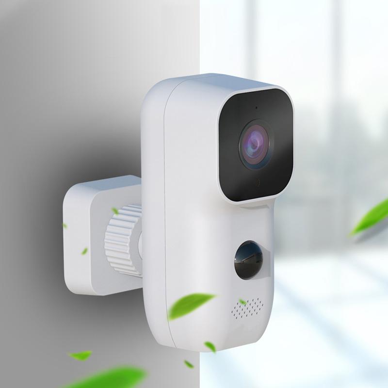 Outerdoor/indoor waterproof solor powered battery camera PIR motion detection security IP camera