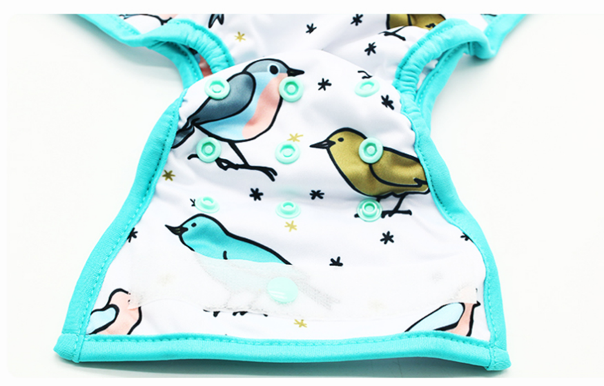 Hot sale diaper nappy cloth cover printed baby cloth nappie waterproof reusable diaper cover