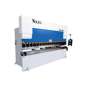 4mm 6mm 8mm thickness E300 CNC 125T 160T 200T hydraulic automatic iron sheet metal bending machine with dual servo motor control