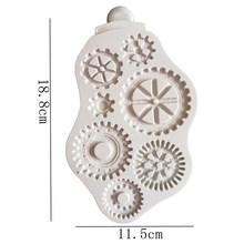 Compass & СТИМ панк формы для помадки торта Декор Инструменты, силиконовые формы Sugarcrafts д набор для выпечки с шоколадом инструменты для тортов ...(Китай)