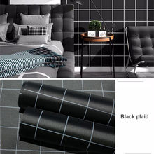 Самоклеящаяся настенная бумага для спальни, водостойкая мебель, наклейка в скандинавском стиле, серые настенные наклейки для украшения ком...(Китай)