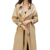 2019 Autumn oversize Double Breasted Vintage Washed Outwear New Women's Casual trench coat Loose Clothing