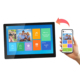 10.1inch Android system IPS cloud frame wifi family album 16GB memory with app email facebook wall mount photo frame