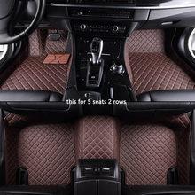 Автомобильный напольный коврик kokolee, для chery tiggo 3 5 qq, для chery, все модели, автомобильные аксессуары, коврики для автомобилей(Китай)
