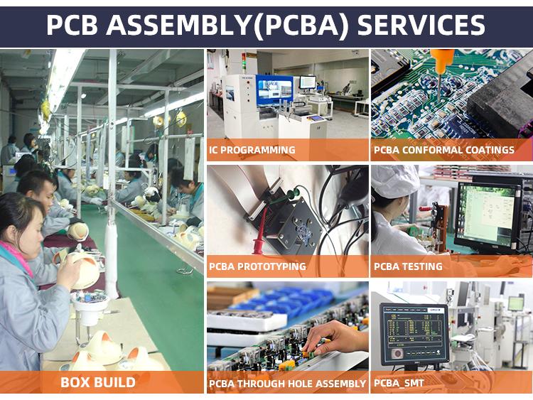 Hot Sale Preto FR4 Serigrafia 1.4 milímetros Espessura do Chapeamento de Ouro Pcb Fornecedor PCBA PCB Assembléia Fabricante Em ShenZhen