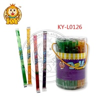 10g wonder sweet fruit flavor jelly stick candy in jar KY-L0126