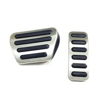 Stainless Steel Car Interior Accessories Car Break Pedal Cover Used For Range Rover