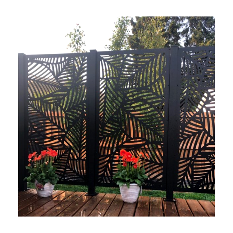 Customized Metal <strong>Screen</strong> Garden Fence Laser Cut Indoor Metal Decorative <strong>Screen</strong>