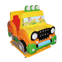 "indoor 17""HD screen driving simulator Machine coin operated cheap price kids electric ride On Swing Car"