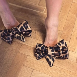 AliExpress hot sale sandals Sexy fashion leopard-print muller slippers