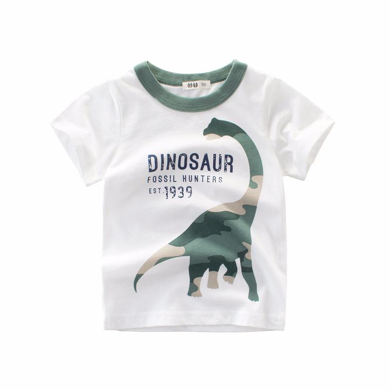 100% cotton cartoon designs printing baby boy t-shirt
