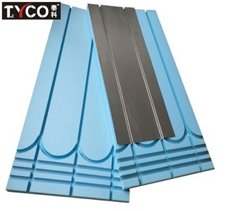 High density hard board suit for pipe 0.45mm thickness aluminum sheet Water heating system accessories