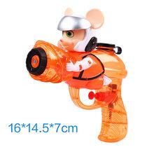 Детский водяной пистолет, Игрушки для ванны, пляжный сквирт, игрушка, пластиковый бластер, пистолет, спрей, полив, можно плавать, игра, разбры...(Китай)
