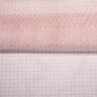 100% Terylene Pink fashion Mesh Lace fabric Net Fabric for dress Curtain