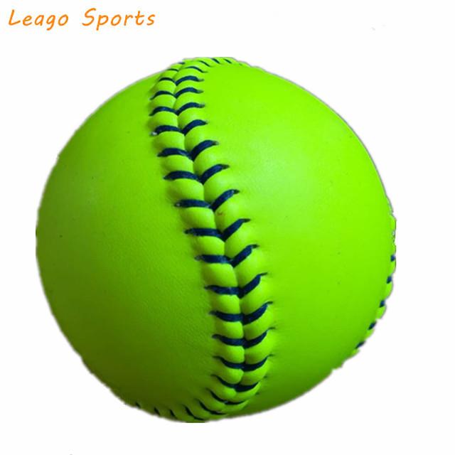 Solide PU core und Syntex synthetische abdeckung Offizielle 12 zoll Fastpitch Softball