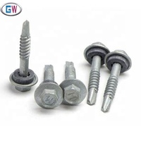 HWH self drilling screws roofing screws self tapping screws galvanized for wood and metal