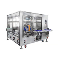High speed low cost OPP labeling machine system for carbonated beverage bottles automatic label sticking machine