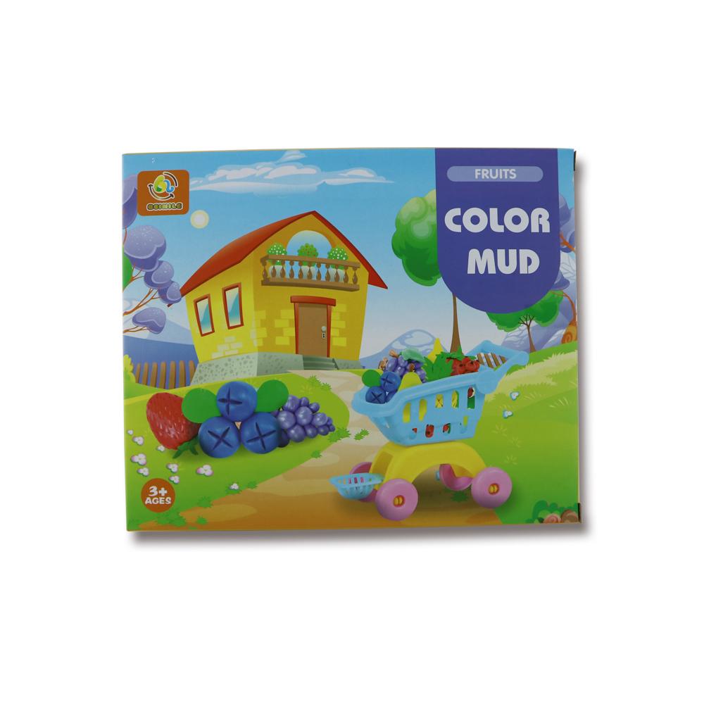गर्म बेच H05669047 colorized प्यारा मॉडलिंग playdough किट