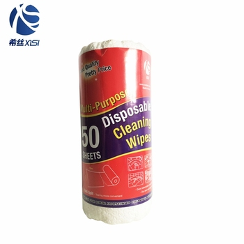 Kitchen cleaning supplies disposable cleaning cloth paper roll