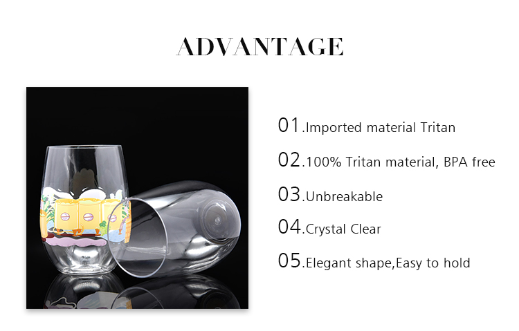 Wholesale Cheap Disposable Plastic Cups Unbreakable Plastic Wine Cup