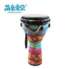 Großhandel musical instruments Hand Percussion <span class=keywords><strong>Trommel</strong></span> Bunte Djembe 12 zoll Afrikanische <span class=keywords><strong>Trommel</strong></span>