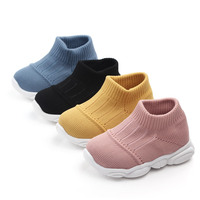 High quality warming kids shoes soft sock anti-slip baby shoes rubber sole