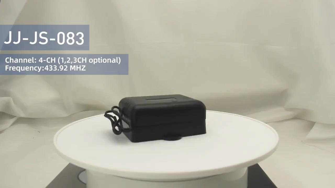 4 Channel Kode Terbuka RF Receiver Untuk Automatic Gate Motor JJ-JS-083
