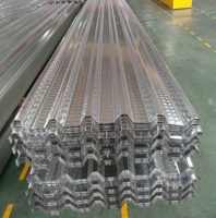 high strength galvanized metal GI roofing deck sheet