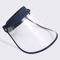 2020 Protective Cap Face Shield Outdoor Anti-Saliva Visors Cap