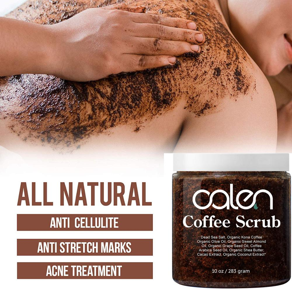 Hot Selling Deep Cleanse Natural Organic Body Skincare Coffee Body Scrub