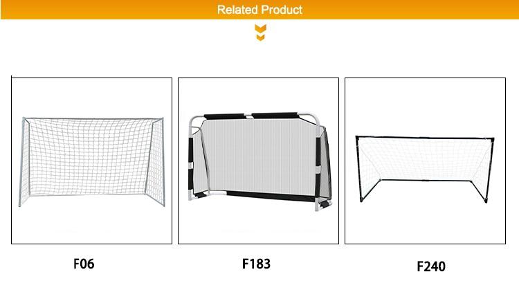 Q-F183 оптовая продажа футбольное тренировочное оборудование Делюкс 183 м портативный футбольный гол