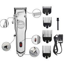 Alle metall 100 jahr clipper LCD display Cordless 1919 Haar trimmer einstellbare cutter Barbers salon professional hair clippers