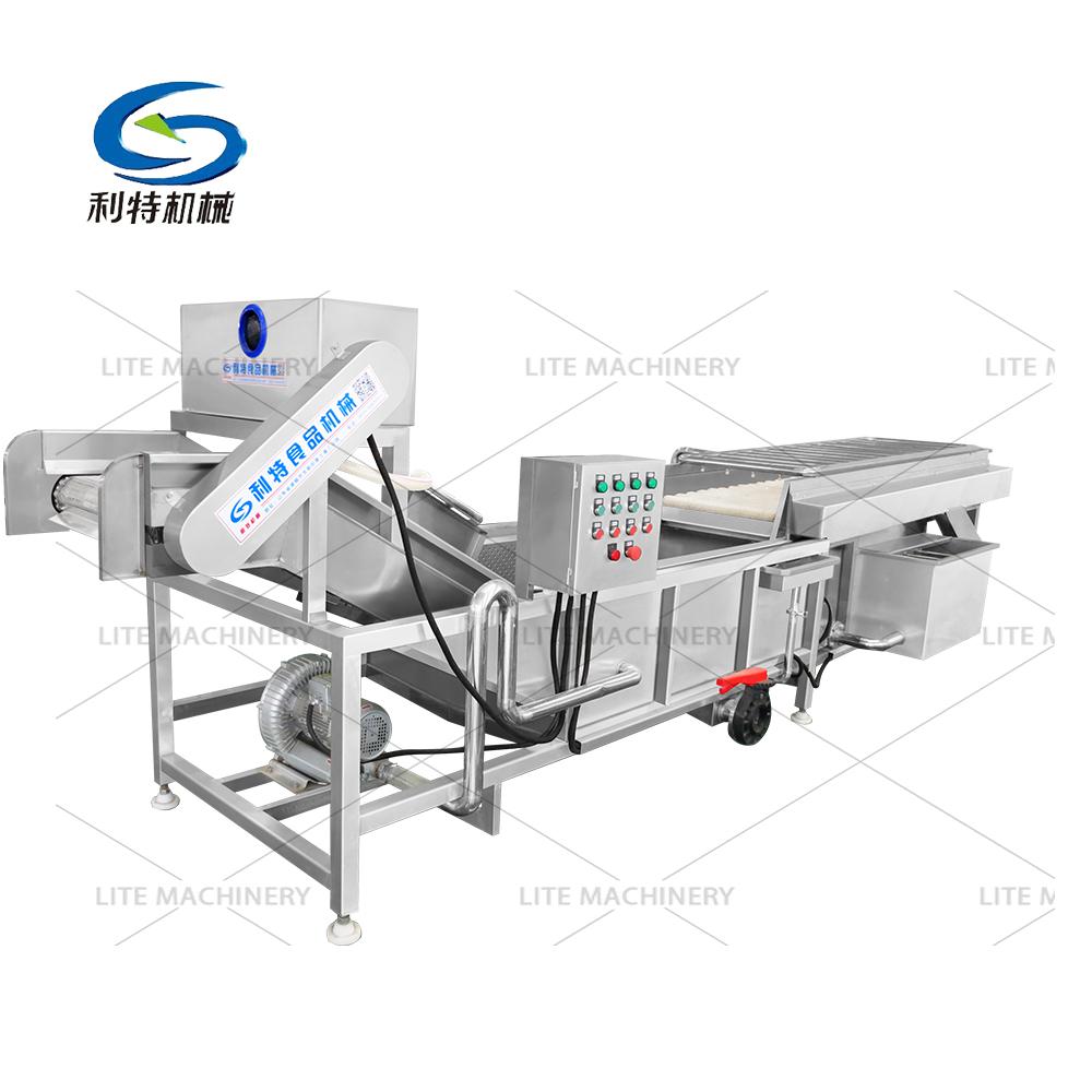 Fruit vegetable washer/Salad Laef Vegetables Processing Production Line