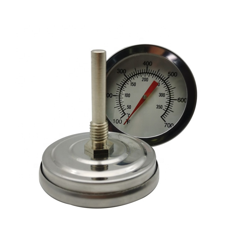 Industrial oven bolier temperature gauge instant read bimetal thermometer
