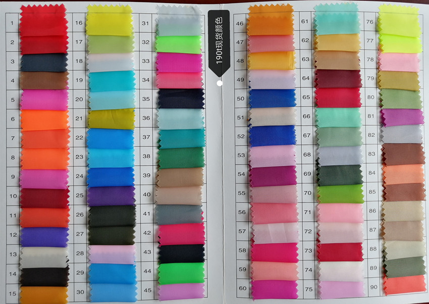 170T 180T 190T High Quality100 Polyester Taffeta Fabric Price