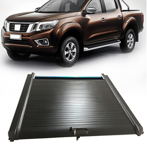For Nissan Navara np300 Aluminium Alloy  Roller lid Pick up Truck Bed Cover Tonneau Cover