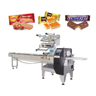 Biscuit/Bread/Candy full servo motor control automatic packaging machine manufacturer