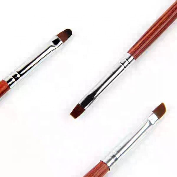 <strong>International</strong> size high quality 100% pure kolinsky nail art acrylic brush