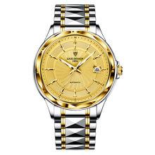 2020 LIGE модные наручные часы Мужские Автоматические Tourbillon Вольфрамовая сталь водонепроницаемые деловые механические часы Relogio Masculino(Китай)