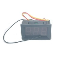 LED Volt Panel Meter DC 0-100V 3 Digital Panel Voltmeter 0.56inch