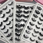 False Eyelashes 25mm Mink Eyelashes False Eyelashes 25mm 3D 5D 7D False Mink Eyelashes Private Label Mink Lashes Wholesale Mink Strip Falseeyelashes Vendor