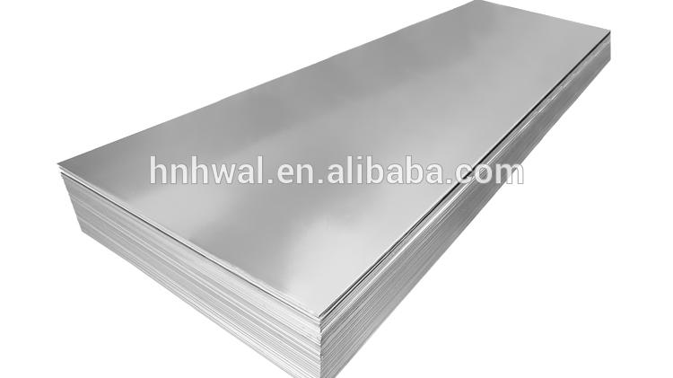 أحدث سعر مخصص سبائك المزاج صفائح الألومنيوم عالية الجودة معدن الألومنيوم لوحة
